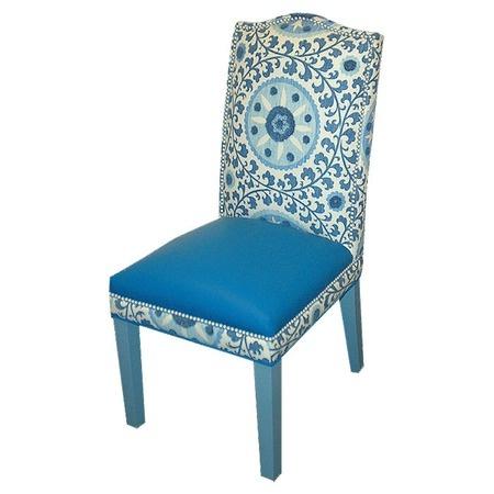 Loni M. Gabrielle Chair in Blue
