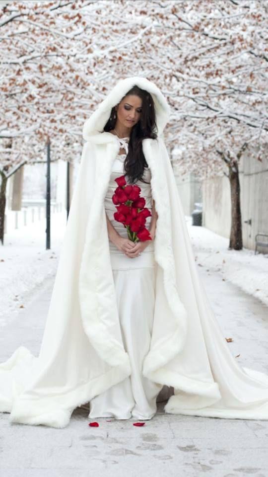 Il fascino e la magia di una sposa d'inverno :)