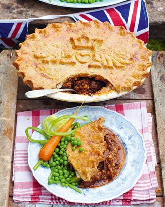 kate and will's wedding pie: Food Recipes, Boys Pies, Pies Recipes, Baby Boys, Meat Pies, Pot Pies, Jamie Olives, Jamie Oliver, Wedding Pies