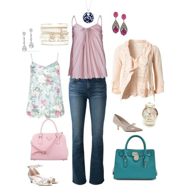 """""""Pink and Girly!"""" by dbsong on Polyvore"""