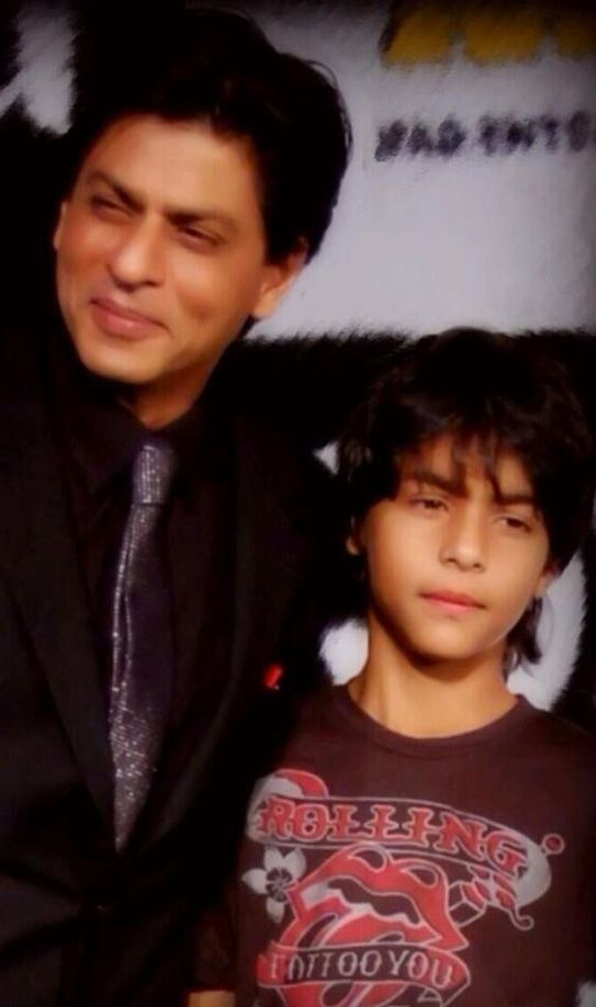 Shahrukh Khan with his eldest son Aryan