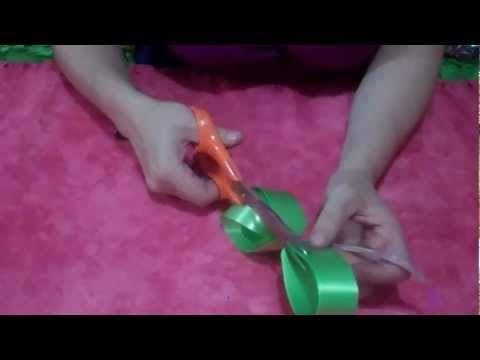 Como hacer un mo o para regalo manualidades san valentin - Manualidades con lazos ...