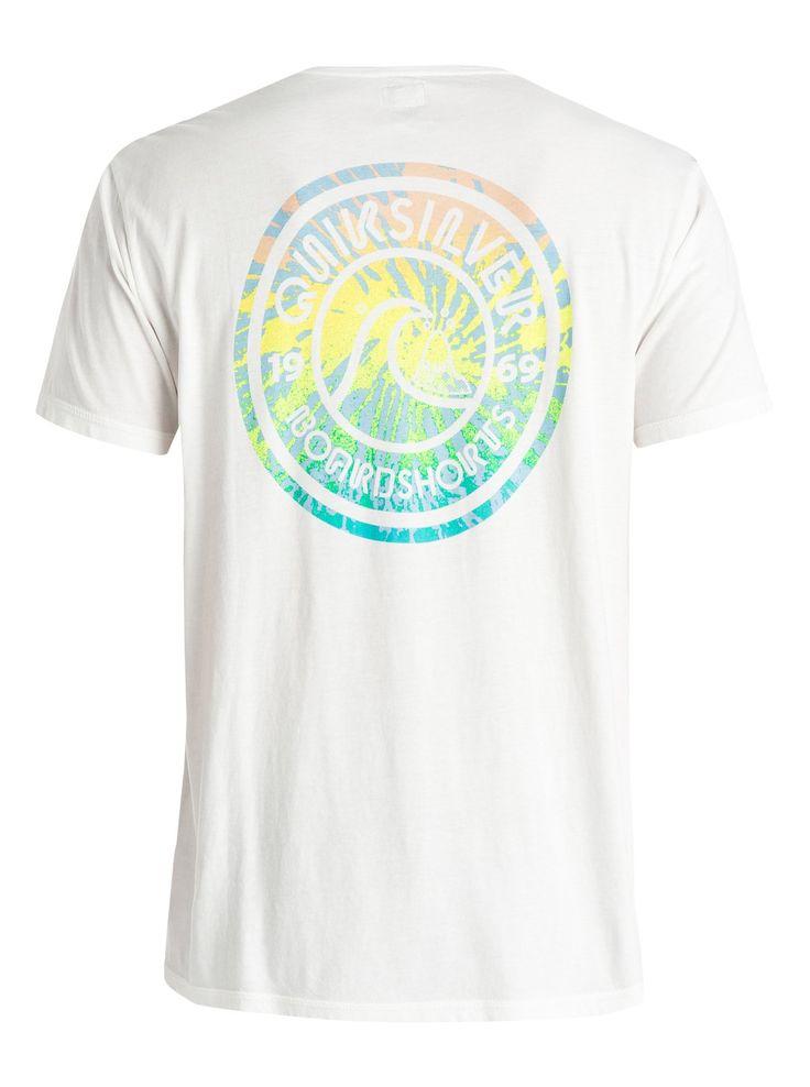 Garment Dyed Spiral - Camiseta 3613371218812   Quiksilver