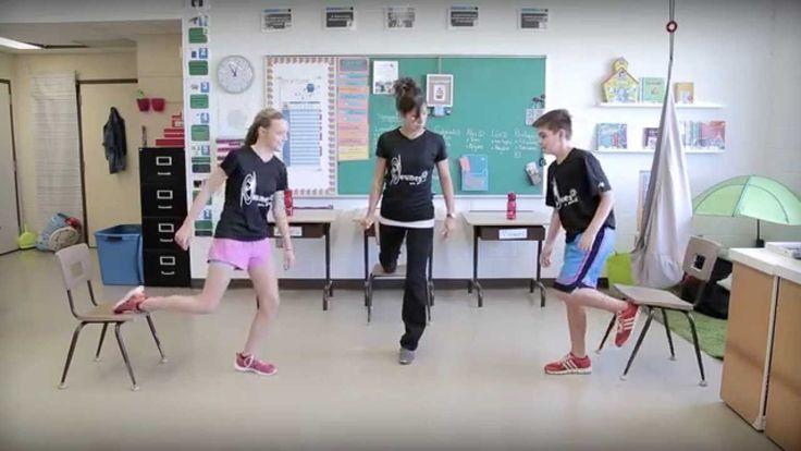 Bouge en classe avec Jeunes en santé #3