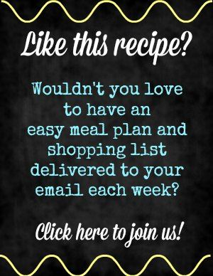 join our weekly menu delivery graphic