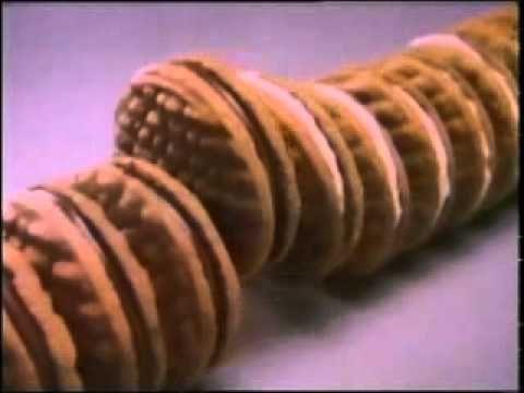 Arnotts Duet Cream Biscuts 1984 - YouTube