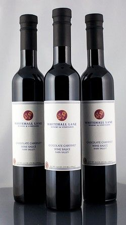 Chocolate Cabernet Sauce   Repin this during the month of March 2014 for the chance to win a set of customized Whitehall Lane govino glasses!