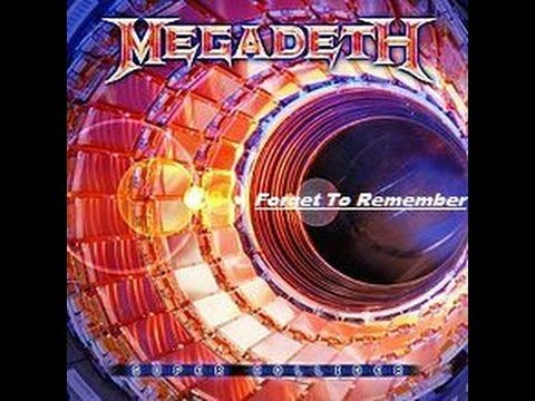 Megadeth - Super Collider - Forget To Remember