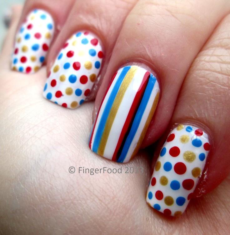 Mejores 215 imágenes de ••••uñas con puntitos•••• en Pinterest ...