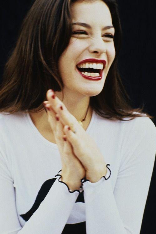Liv Tyler ♥  Beautiful Smile!!