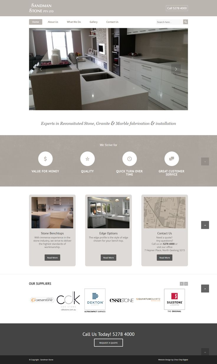 A Local Trade, Boosting their Business with a Targeted Website.  A local trade business that needs to raise their profile and showcase their skills to larger builders. The benefits are achieved through a simple site that uses photography and education to connect with potential clients.