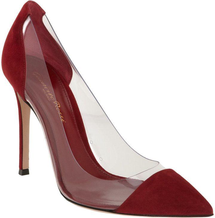cca11ce3c2b6 Gianvito Rossi Plexy Combo Pump · Red ShoesBeautiful ...