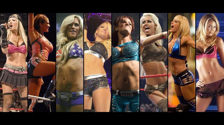 Living room home wall decoration fabric poster Stacy Keibler Michelle Mc Cool Maria Kanellis Ashley Massaro $11.98