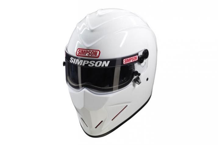 Diamondback SNELL SA 2010 - White | Simpson | Helmets and Visors | Designer Helmets