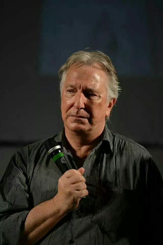 rickman single guys Moviesonline had the pleasure of sitting down with alan rickman (harry potter   because the thing is you guys see the finished result, and every one of these,.