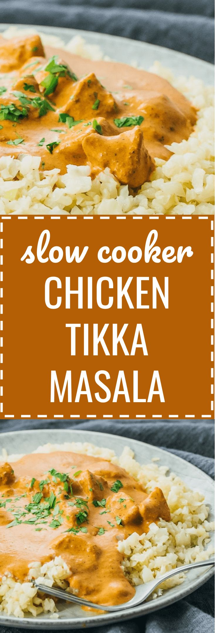 A homemade restaurant-quality version of chicken tikka masala using the slow cooker. crockpot / indian dishes / crock pot / families / weeknight dinners / comfort foods / rice / spices / curries / keto / low carb / diet / atkins / induction / meals / reci http://eatdojo.com/healthy-recipes-salads-haters/