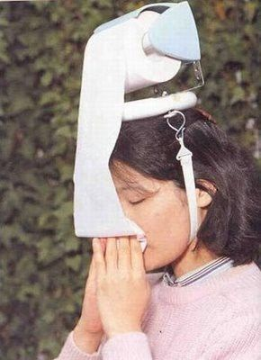 With the allergies around here, I think this could become quite fashionable.
