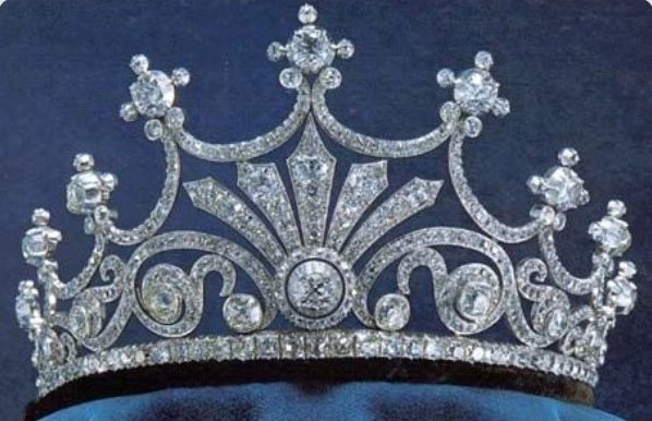 "Previous pinner: Queen Anne Boleyn's Crown. Me: I have serious doubts that this tiara dates back to the 16th century. Maybe it's from the HBO series, ""The Tudors"", and THAT'S the Anne Boleyn they're talking about. All I can find on this tiara is a Pinterest label, which is pretty meaningless. It's a pretty piece of jewelry, and I like it, so it's going here for now."