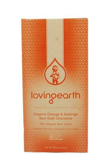 Orange & Gubinge Dark Chocolate - Raw Organic