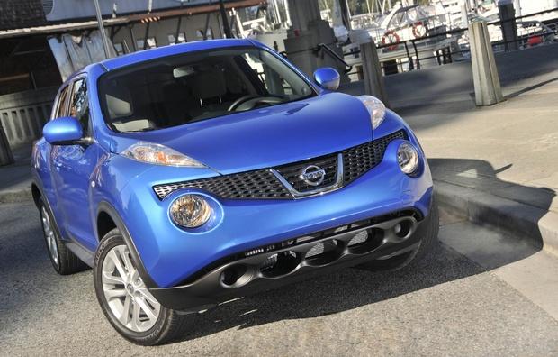 2011 #Nissan #Juke Blue