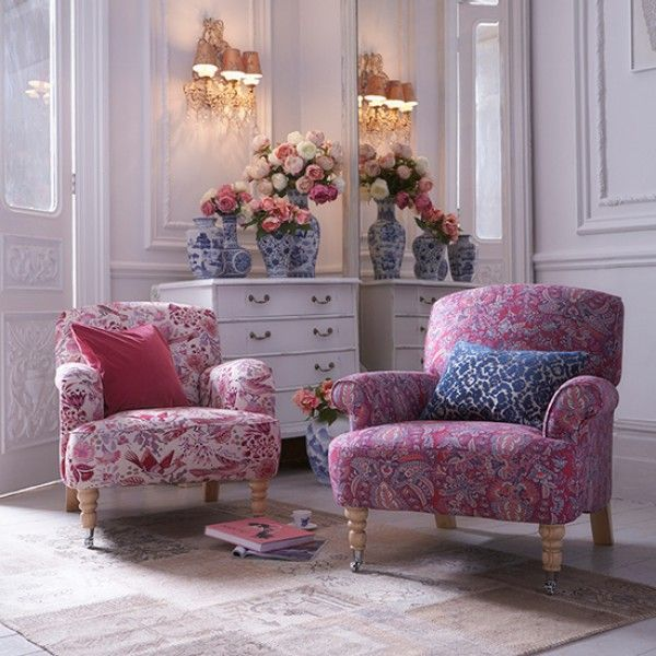 Floral Couch, Floral Fabric And Floral Furniture