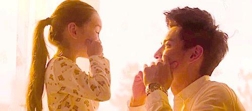 Kris and his daughter