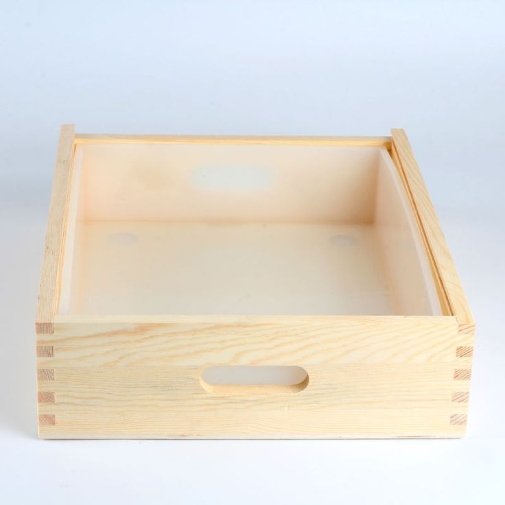 Silicone Liner Mold With Wooden Box Loaf Soap Making Tools DIY Cake Bread Toast