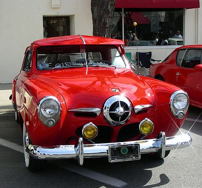 1950 Studebaker Champion - what a beautiful car unlike these epa mandated sterile what evers
