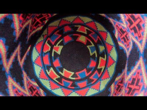 Como tejer una mochila Wayuu 1 - YouTube
