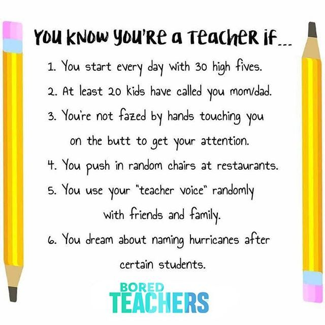 If you don't teach younger kids you can disregard #3!