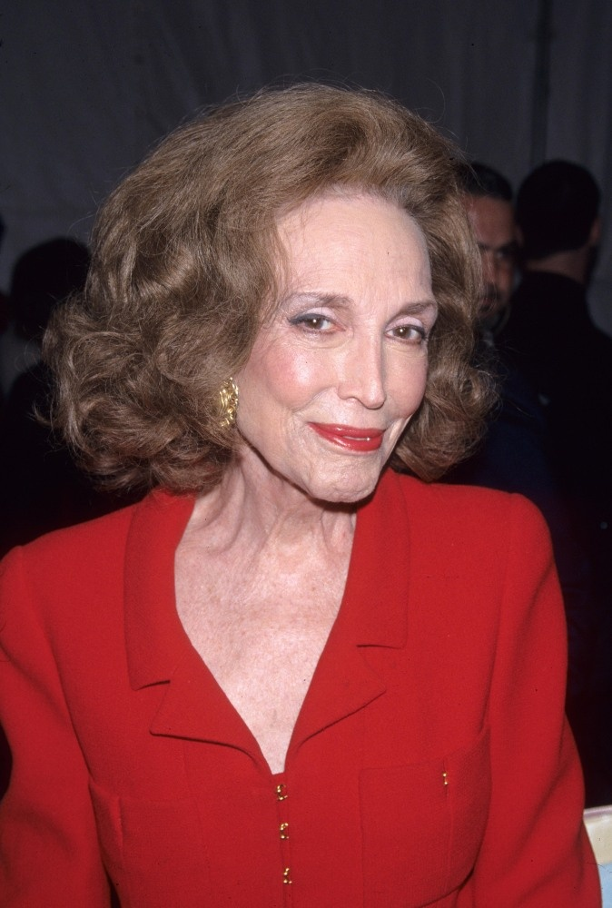 Helen Gurley Brown - long-time editor of Cosmos magazine & author of Sex and the Single Girl.