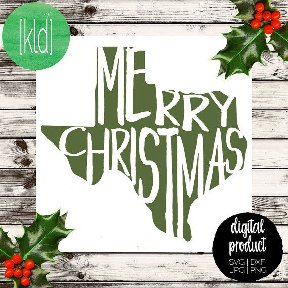 Its a Texas Christmas! This Merry Christmas svg features the seasonal cheer knocked out of the state of Texas and topped with a Santa Hat. This cute 3 piece design is perfect for this years card, a handmade Christmas sign, shirts and more. Includes 2 versions - with and without Santa hat  Contains 1 zip file with 5 files for each format (dxf, jpeg, png, svg). [also available]  Missing your state? Send me a conversation and we can make it happen!  Merry Christmas Yall w/ Monogram Frame…