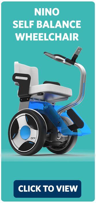 Nino One wheelchair power attachment