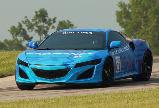 Official: Acura to roll out NSX Prototype for Mid-Ohio IndyCar race