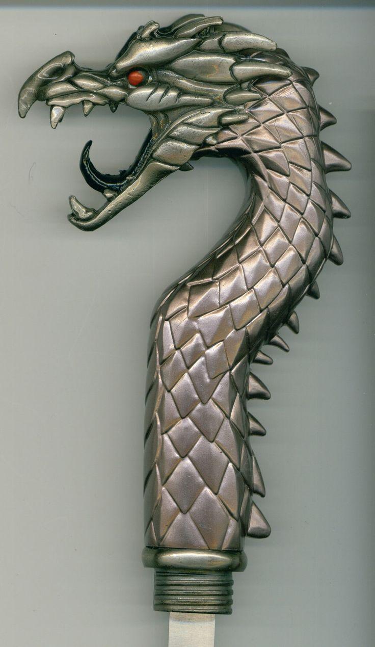 how to make a dragon sword