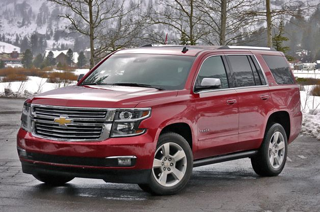 2015 Chevrolet Tahoe First Drive - Autoblog
