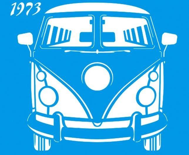 Stencil Pirua 1973 17 x 21cm - STM 186 Litoarte - Stencil 17 x 21cm - Stencil ou molde vazado - Empório Janial