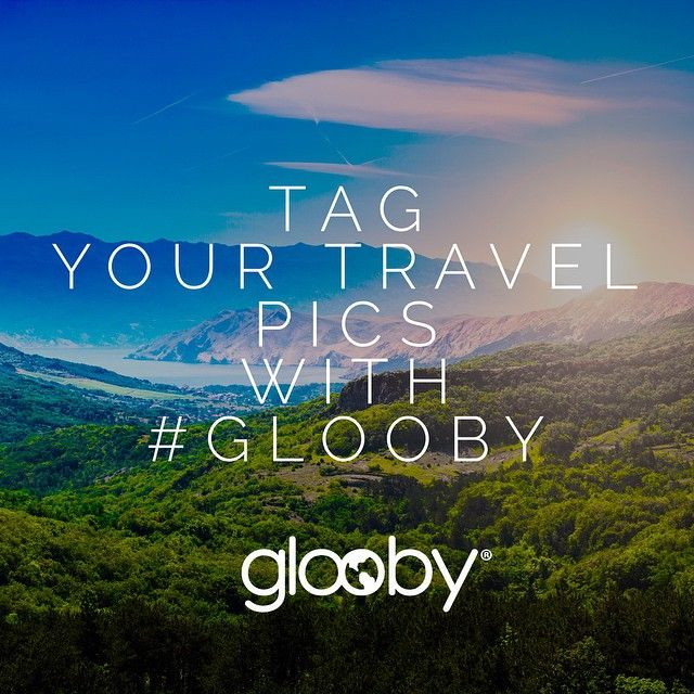 Tag your travel pics with #glooby and we'll share the best ones! ✈️