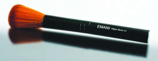 EMANI V2 Blush Brush. The Emani V2 Blush Brush is a must-have addition to your makeup kit for perfect blush application every time. Say goodbye to unnatural, streaky color, and say hello to organic colour that blends perfectly into your face.