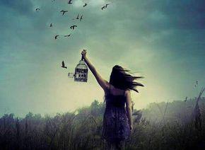 Amare davvero significa anche essere pronti a lasciare andare, lasciare libera l'altra persona e noi stessi. Non creare catene.