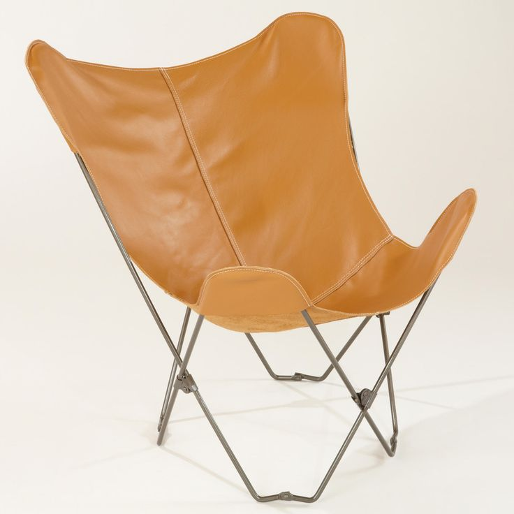 An inexpensive take on the classic butterfly, this chair is on sale at World Market stores for $99!