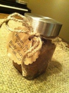 Brown Sugar Vanilla Body Scrub
