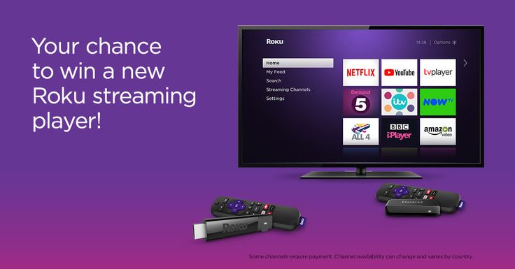 Enter for a chance to win a new Roku Streaming Stick+ or Roku Express.