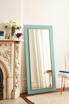 Anthropologie Lacquered Mirror #anthrofave
