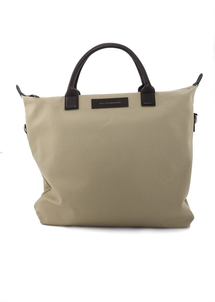 Want Les Essentiels - SS17 - Menswear // Beige Ohare shopper tote bag