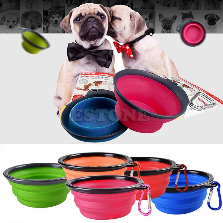 >> Click to Buy << Portable Foldable Collapsible Pet Cat Dog Food Water Feeding Bowl Dish Feeder #Affiliate