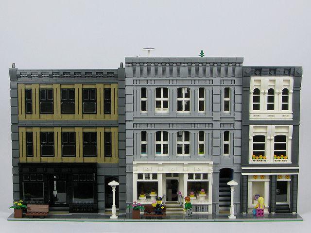 471 best Lego Buildings MOC images on Pinterest
