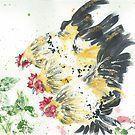 Three Hens by Corinne Matus – #corenne #Corinne #H…