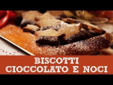 Ricetta biscotti noci e cioccolato | Dolci di Natale | Le Video Ricette di Andre