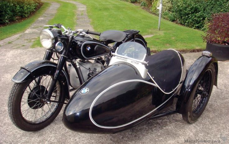 1951 BMW R67 Combination  This attractively presented example dating from the first year of production is fitted with a Charnwood sidecar and has benefited from a well executed restoration.